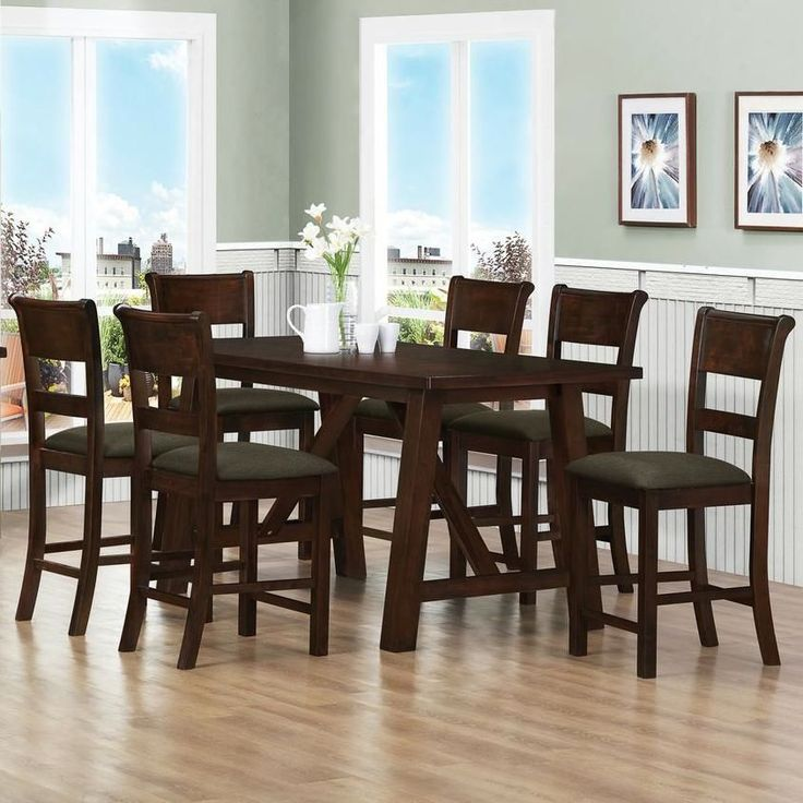 counter high dining room set for the home pinterest