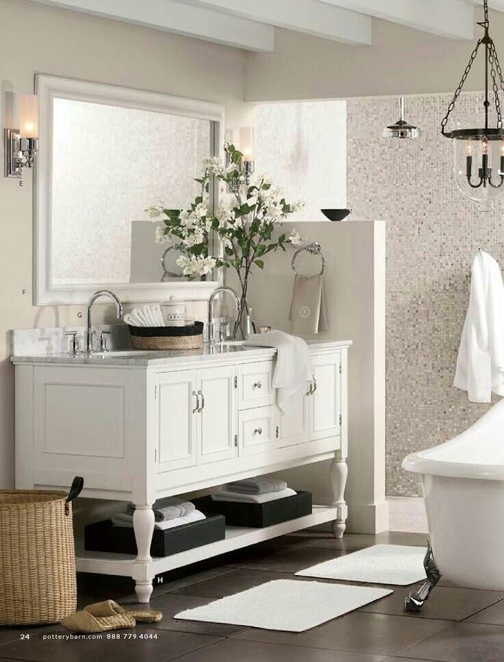 Bath pottery barn home bathroom pinterest Bath barn