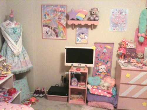 Cute Fairy Kei Room I Love The Dresser Dream Home