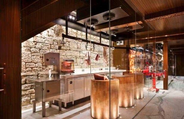 design ideas furthermore butcher shop interior designs retail also