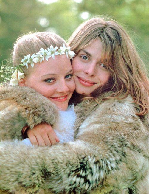 Jodie Foster and Nastassja Kinski