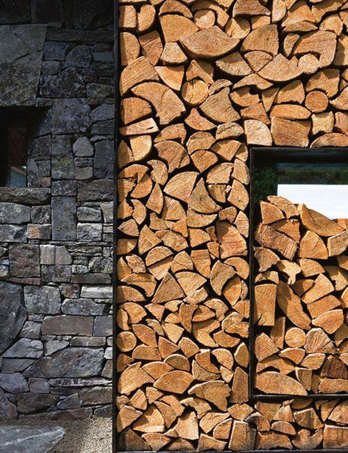 wood pile design firewood pinterest