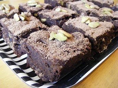 Deep Dark Pistachio Brownies | Brownies & Bars | Pinterest
