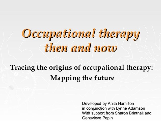 Occupational Therapy Assistant (OTA) how to write a website report