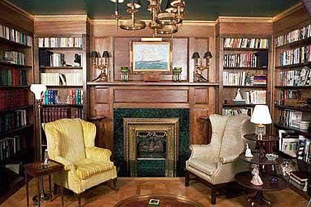 Cozy Home Library Reading Photo Places I 39 D Like To Hideaway