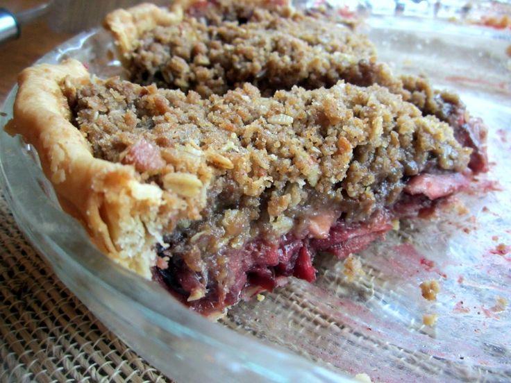 Deep Dish Bourbon Apple Cherry Pie... topping made with 1c sugar 1c ...