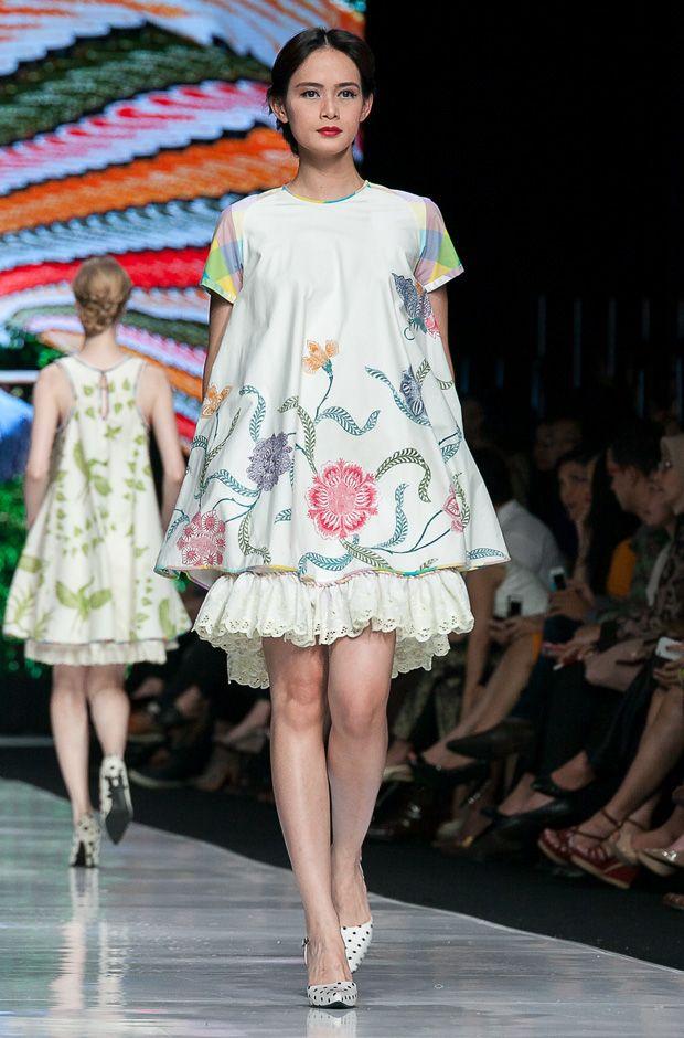 Cute Batik Dress by Edward Hutabarat | Cusal | Pinterest