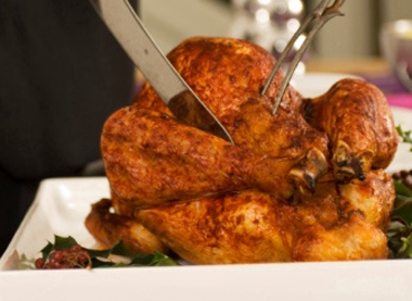 Beer-Brined Turkey with Red Chile Adobo | Food | Pinterest