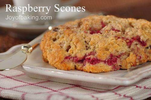 Raspberry Scones | Scones | Pinterest