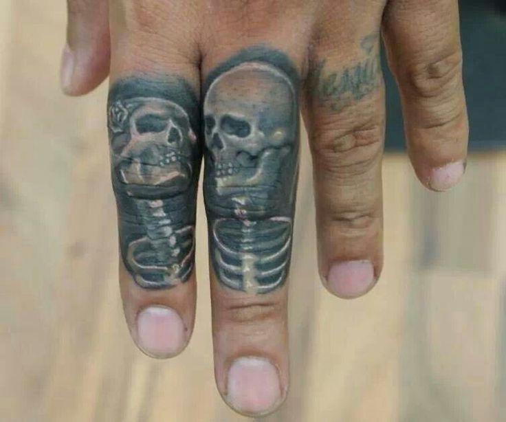 Finger skulls ~ Andrade