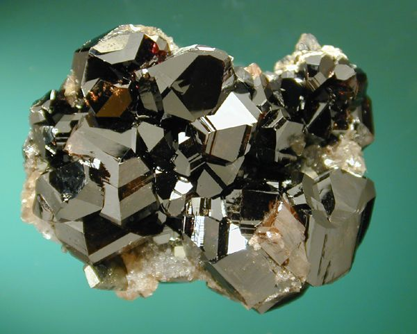 CASSITERITE Also called tin stone