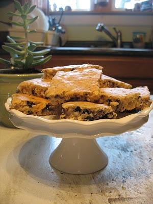 blueberry muffin bars   Favorite Recipes   Pinterest
