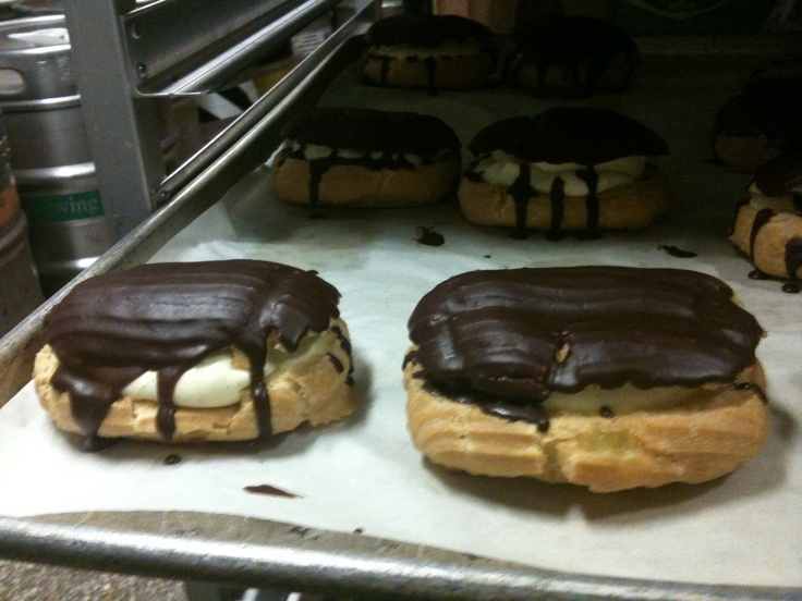... cream filled chocolate covered eclairs chocolate covered eclairs 32