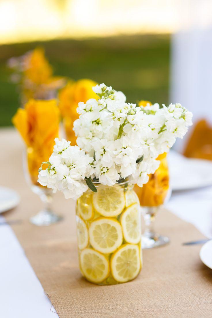 Summer Wedding Centerpiece