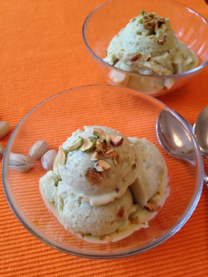 Avocado Lime Ice Cream. Dairy free! | Treat Ideas | Pinterest