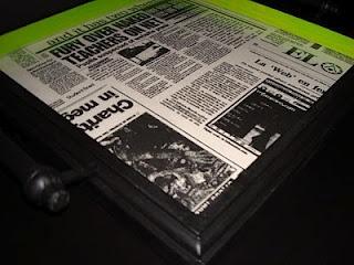 "Tabuleiro ""Papel de Jornal"""
