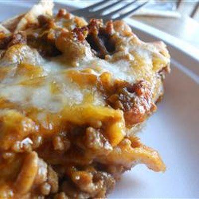 Taco Lasagna | Food | Pinterest