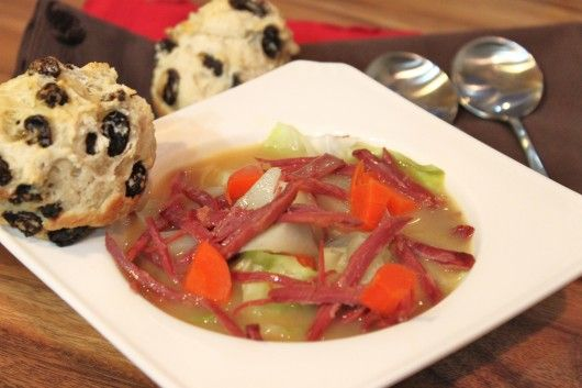 Corned Beef and Cabbage Soup | Recipe