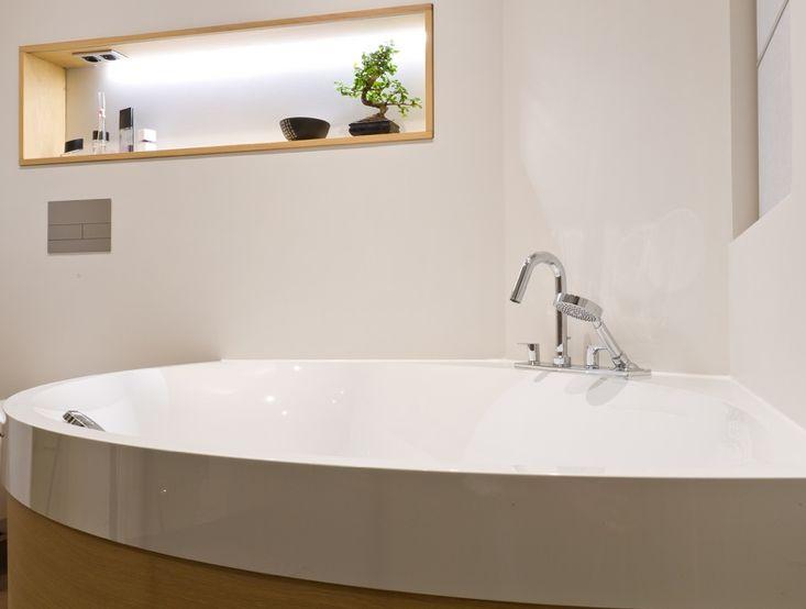 Luxe Tenten Met Badkamer ~ strakke koof met gladde muur  badkamer  Pinterest