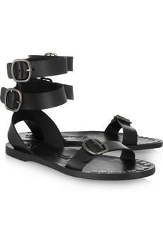 Pedro Garcia | Zula leather sandals | NET-A-PORTER.COM - StyleSays