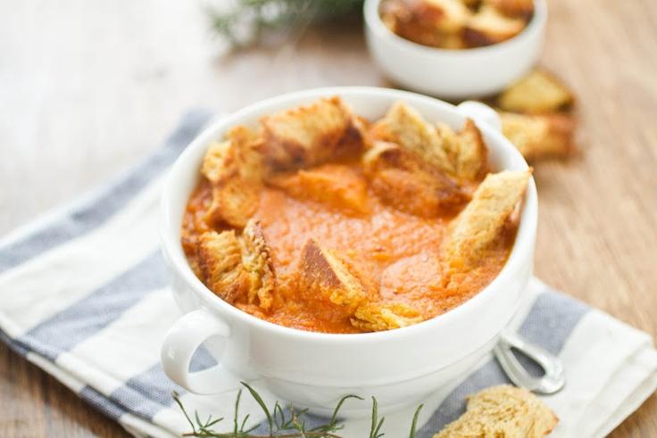 Naturally Ella | Roasted Garlic and Tomato Soup | Page: 1 | Naturally ...