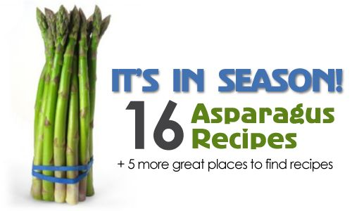 love asparagus and can't wait to try these recipes.