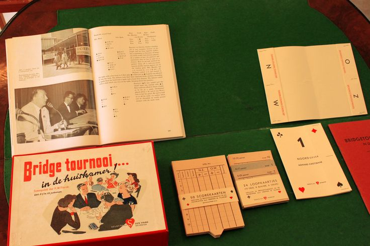 display. He promoted the Bridge game by selling a tournament set ...