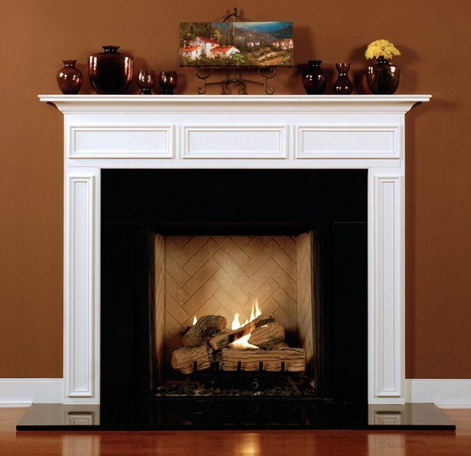 Danbury Wood Fireplace Mantel Standard Sizes