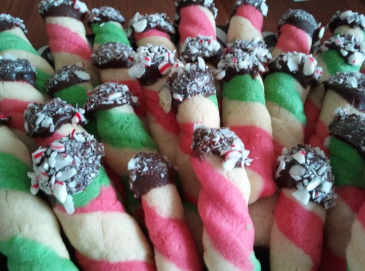 Peppermint Dream Butter Cookies Recipes — Dishmaps
