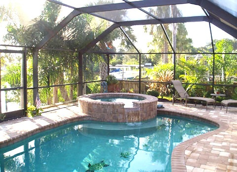 Pool in a greenhouse home design pinterest for Swimming pool greenhouse