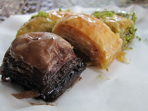 Walnut And Pistachio Baklava Recipe — Dishmaps