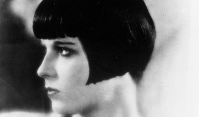 Louise brooks short bob let us dance in the sun wearing wild f