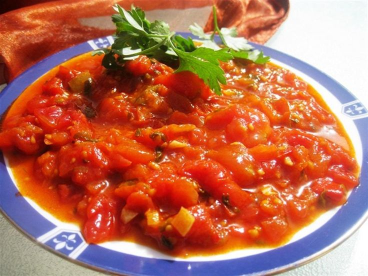 Matbucha | Israeli food | Pinterest