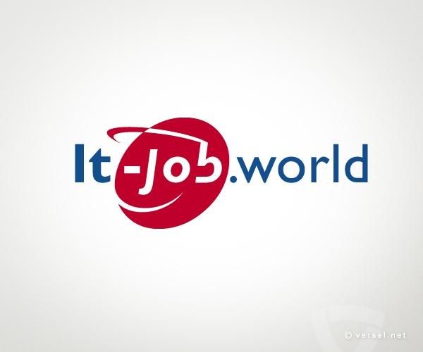 IT-job.world (empresa de trabajo temporal)  - www.versal.net • Diseño Gráfico • Identidad Visual Corporativa • Publicidad • Diseño Páginas Web • Ilustración • Graphic Design • Corporate Identity • Advertising • Web Pages • Illustration • Logo