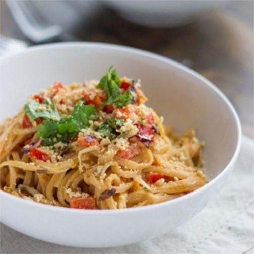 Thai Peanut Noodle Stir Fry