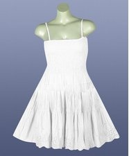 White Eyelet Dress on White Eyelet Dress By Pink Apple   Fashionista