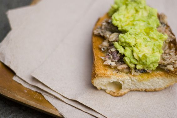 Sardine and avocado sandwich that helped Alton Brown lose 50 pounds ...