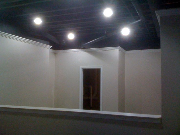 painting basement ceiling black details carpentry and remodeling llc
