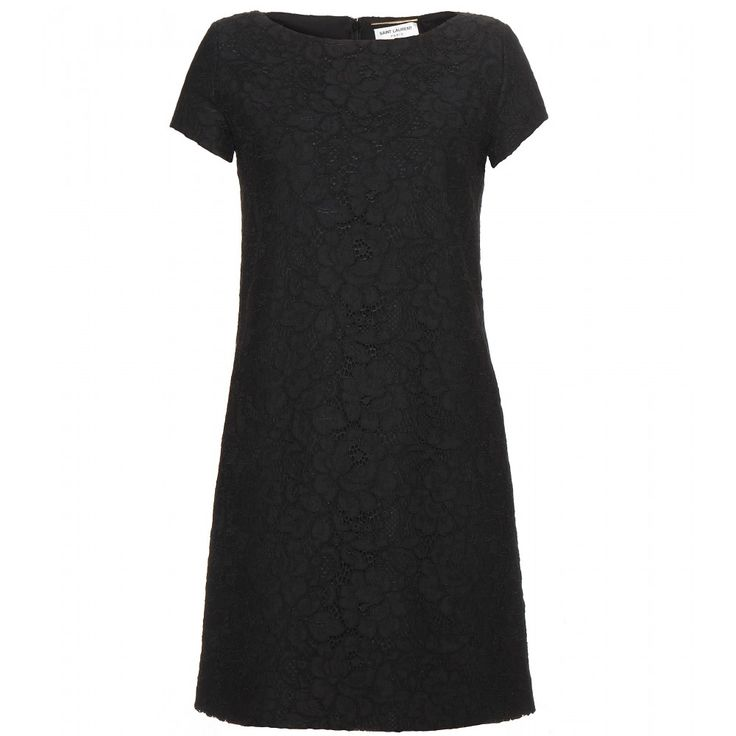 Saint Laurent - Robe en dentelle