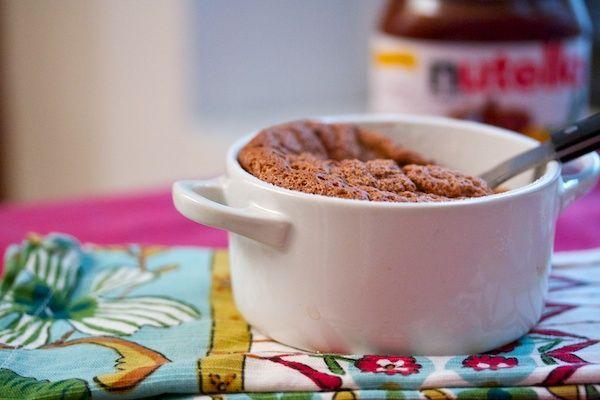 Nutella Souffle | Nutella | Pinterest