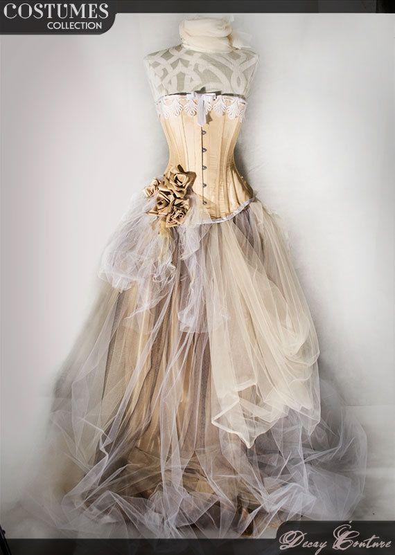 Victorian style wedding dress