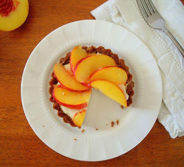Nectarine, Mascarpone & Gingersnap tarts: The Edible Woman via Smitten ...