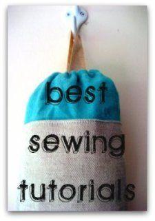 sewing tutorial list
