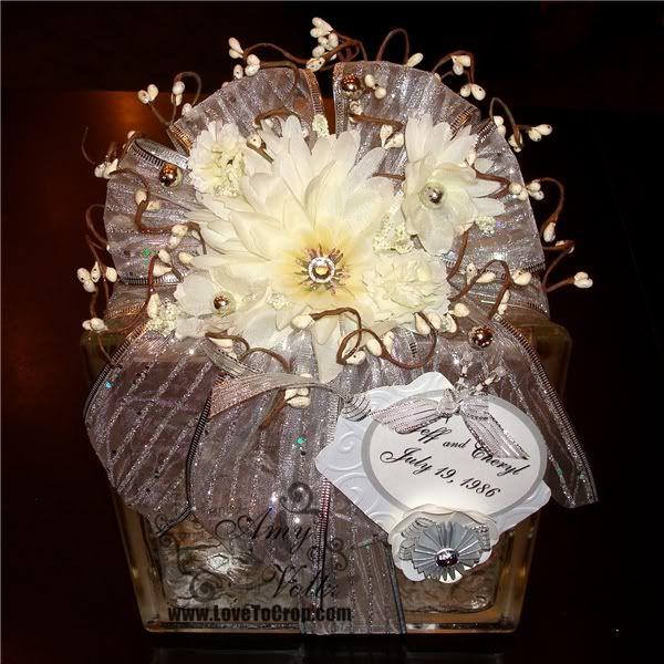 Glass block centerpiece wedding pinterest - Glass block decoration ideas ...