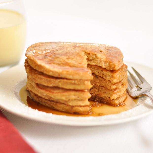 Eggnog Pancakes | breakfast | Pinterest