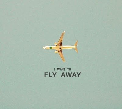 i want to fly away...