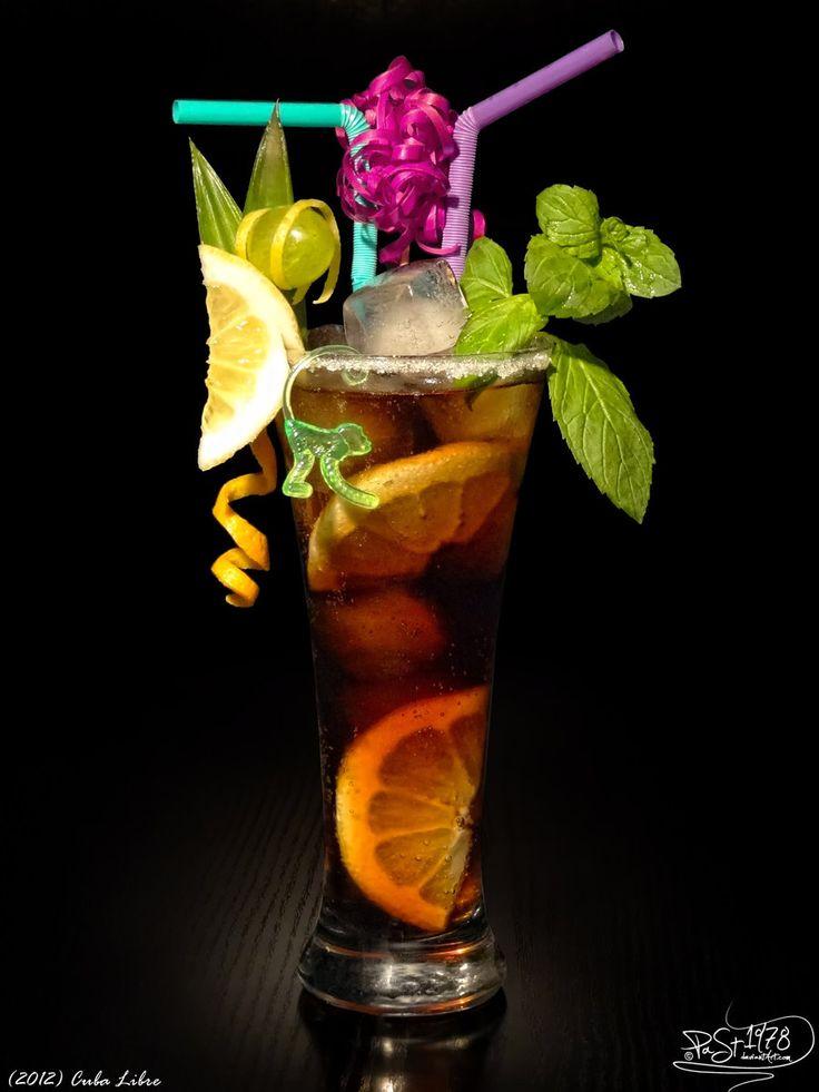 Cuba Libre by PaSt1978.deviantart.com on @deviantART- Rum Lime juice ...