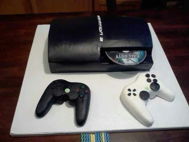 Playstation 3 cake like these ps 3 find it in amazon click the link