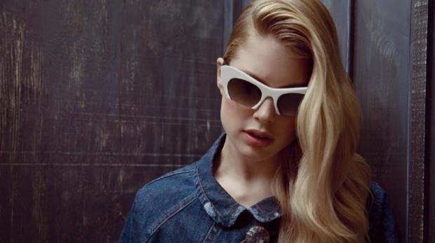 Doutzen  amp  Bette Franke voor Miu Miu eyewear - http   www fashionscene    Bette Franke Miu Miu
