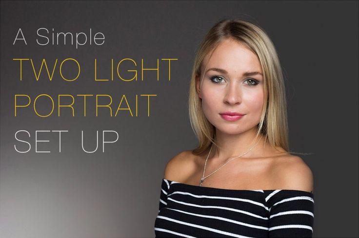 A Simple Two Light Portrait Setup